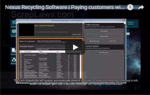 Nexus RMS makes payment fast, efficient and easy.With ease, the customers drivers license, signature and fingerprint can be captured.A customer can be paid by cash, check, ATM, PayPal or Visa Check card with one click.A thermal receipt with the customers signature is printed at the end of the process.Nexus automatically generates Texas cash cards (either paper or plastic cards) when a customer is paid in cash!At this station you will also find: A drivers license scanner, a thermal receipt printer, a fingerprint scanner, a signature pad, a customer facial camera, a cash drawer and typically a check printer.